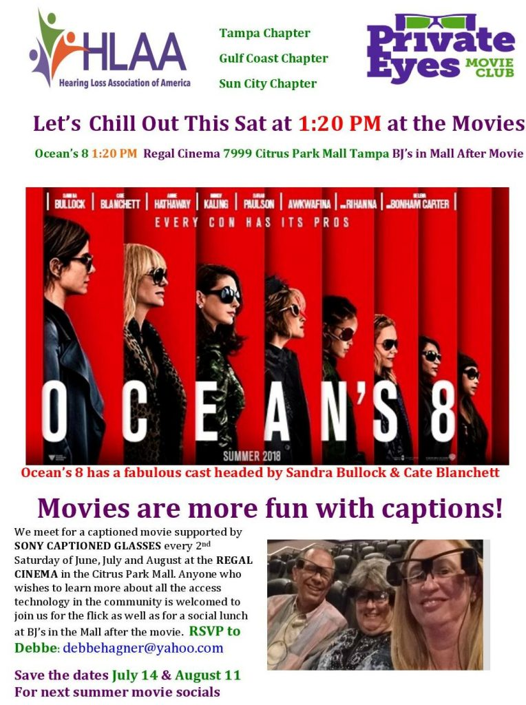 Ocean's 8 with Captions