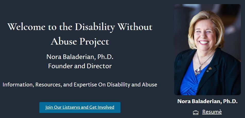 Disability Without Abuse Project
